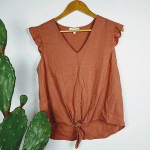 Monteau blouse sz L